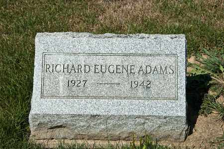 ADAMS, RICHARD EUGENE - Richland County, Ohio | RICHARD EUGENE ADAMS - Ohio Gravestone Photos