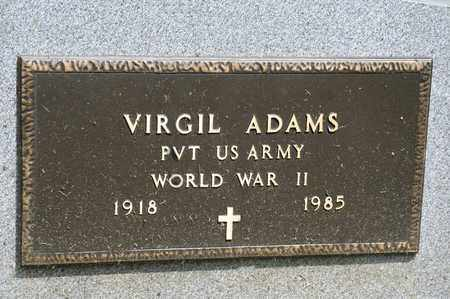 ADAMS, VIRGIL - Richland County, Ohio | VIRGIL ADAMS - Ohio Gravestone Photos