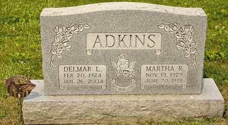 ADKINS, MARTHA R - Richland County, Ohio | MARTHA R ADKINS - Ohio Gravestone Photos