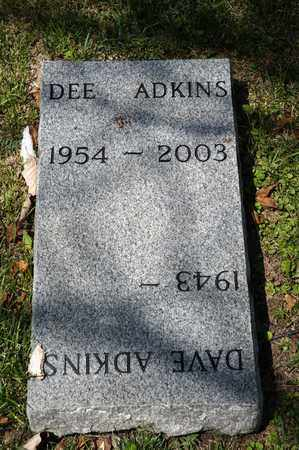 ADKINS, DEE - Richland County, Ohio | DEE ADKINS - Ohio Gravestone Photos