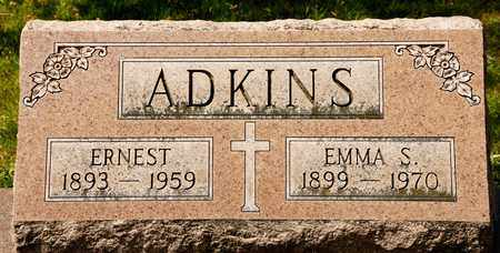 ADKINS, EMMA S - Richland County, Ohio | EMMA S ADKINS - Ohio Gravestone Photos
