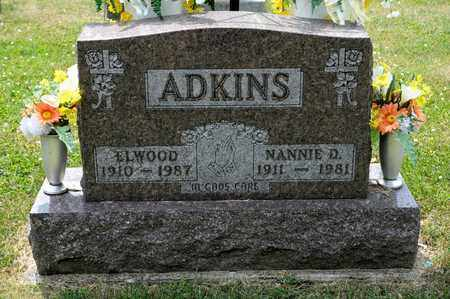 ADKINS, ELWOOD - Richland County, Ohio | ELWOOD ADKINS - Ohio Gravestone Photos