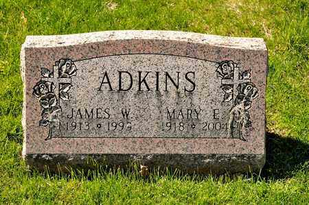 ADKINS, JAMES W - Richland County, Ohio | JAMES W ADKINS - Ohio Gravestone Photos