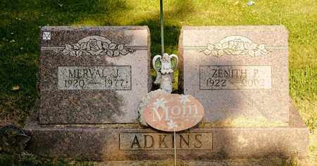 ADKINS, ZENITH P - Richland County, Ohio | ZENITH P ADKINS - Ohio Gravestone Photos