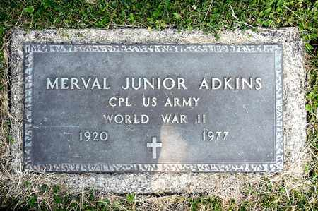 ADKINS, MERVAL JUNIOR - Richland County, Ohio | MERVAL JUNIOR ADKINS - Ohio Gravestone Photos