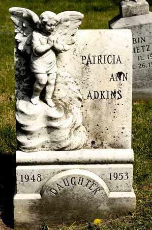 ADKINS, PATRICIA ANN - Richland County, Ohio | PATRICIA ANN ADKINS - Ohio Gravestone Photos