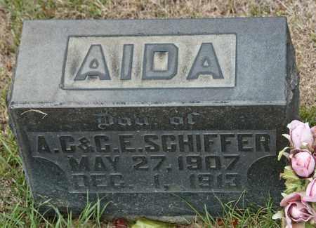 AIDA, SCHIFFER - Richland County, Ohio | SCHIFFER AIDA - Ohio Gravestone Photos