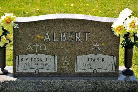 ALBERT, DONALD L - Richland County, Ohio | DONALD L ALBERT - Ohio Gravestone Photos