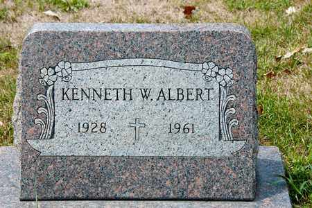 ALBERT, KENNETH W - Richland County, Ohio | KENNETH W ALBERT - Ohio Gravestone Photos