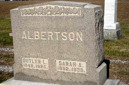 ALBERTSON, BUTLER L - Richland County, Ohio | BUTLER L ALBERTSON - Ohio Gravestone Photos