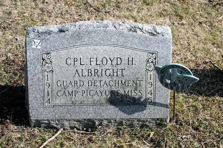 ALBRIGHT, FLOYD H - Richland County, Ohio | FLOYD H ALBRIGHT - Ohio Gravestone Photos