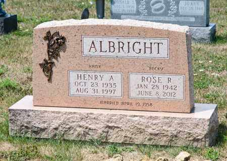 ALBRIGHT, HENRY A - Richland County, Ohio | HENRY A ALBRIGHT - Ohio Gravestone Photos