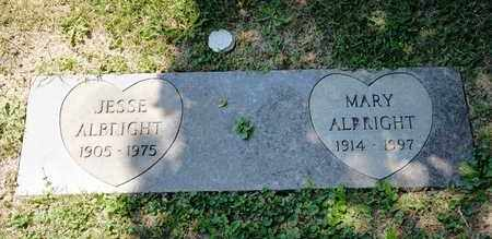 ALBRIGHT, MARY - Richland County, Ohio | MARY ALBRIGHT - Ohio Gravestone Photos