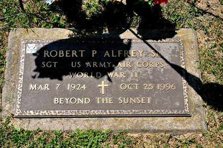ALFREY SR, ROBERT P - Richland County, Ohio | ROBERT P ALFREY SR - Ohio Gravestone Photos