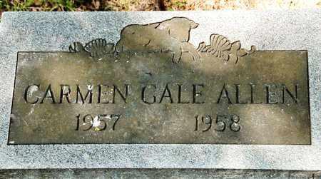 ALLEN, CARMEN GALE - Richland County, Ohio | CARMEN GALE ALLEN - Ohio Gravestone Photos