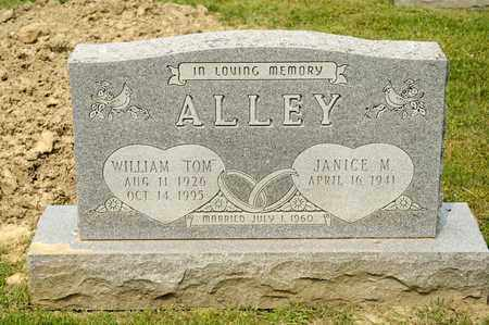 ALLEY, WILLIAM - Richland County, Ohio | WILLIAM ALLEY - Ohio Gravestone Photos