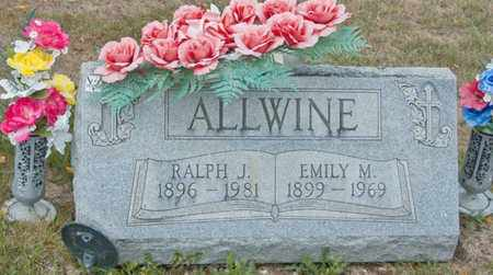 ALLWINE, EMILY M - Richland County, Ohio | EMILY M ALLWINE - Ohio Gravestone Photos