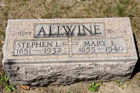 ALLWINE, STEPHEN L - Richland County, Ohio | STEPHEN L ALLWINE - Ohio Gravestone Photos