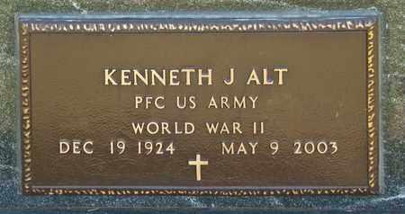 ALT, KENNETH J - Richland County, Ohio | KENNETH J ALT - Ohio Gravestone Photos