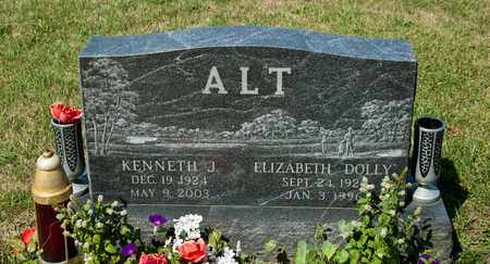 ALT, ELIZABETH - Richland County, Ohio | ELIZABETH ALT - Ohio Gravestone Photos
