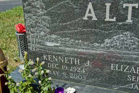 ALT, KENNETH J - Richland County, Ohio | KENNETH J ALT - Ohio Gravestone Photos