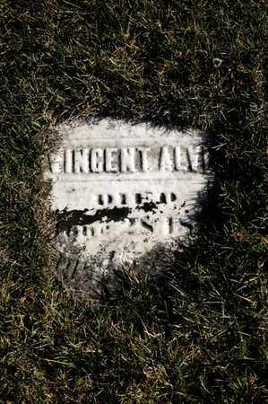ALVEY, VINCENT - Richland County, Ohio | VINCENT ALVEY - Ohio Gravestone Photos