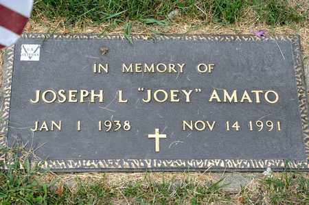 AMATO, JOSEPH L - Richland County, Ohio | JOSEPH L AMATO - Ohio Gravestone Photos