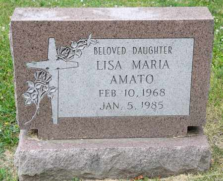 AMATO, LISA MARIA - Richland County, Ohio | LISA MARIA AMATO - Ohio Gravestone Photos