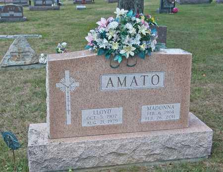 AMATO, LLOYD - Richland County, Ohio | LLOYD AMATO - Ohio Gravestone Photos