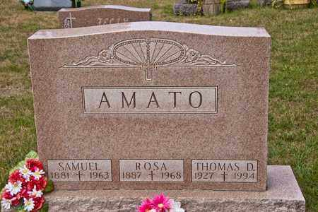 AMATO, SAMUEL - Richland County, Ohio | SAMUEL AMATO - Ohio Gravestone Photos