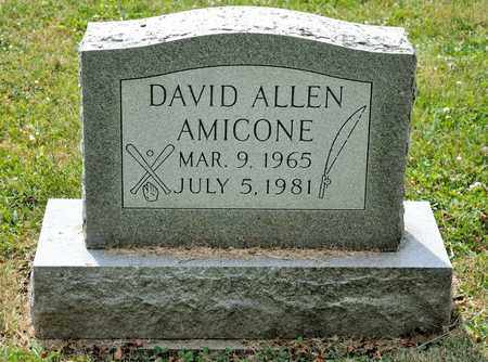AMICONE, DAVID ALLEN - Richland County, Ohio | DAVID ALLEN AMICONE - Ohio Gravestone Photos