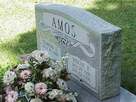 AMOS, CLAUDE E. - Richland County, Ohio | CLAUDE E. AMOS - Ohio Gravestone Photos