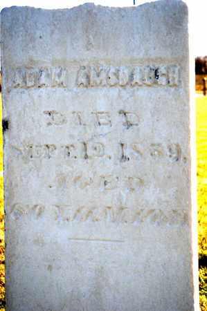 AMSBAUGH, ADAM - Richland County, Ohio | ADAM AMSBAUGH - Ohio Gravestone Photos