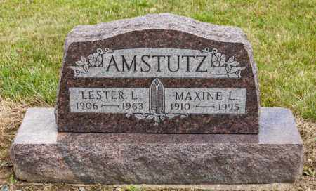 AMSTUTZ, LESTER L - Richland County, Ohio | LESTER L AMSTUTZ - Ohio Gravestone Photos