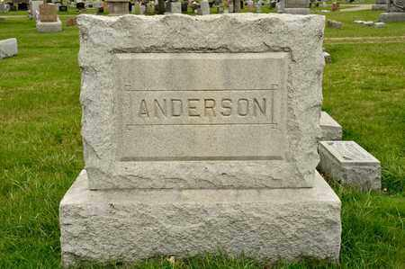 ANDERSON, JAMES H - Richland County, Ohio | JAMES H ANDERSON - Ohio Gravestone Photos