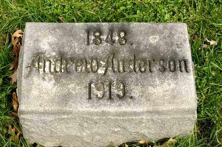 ANDERSON, ANDREW - Richland County, Ohio | ANDREW ANDERSON - Ohio Gravestone Photos