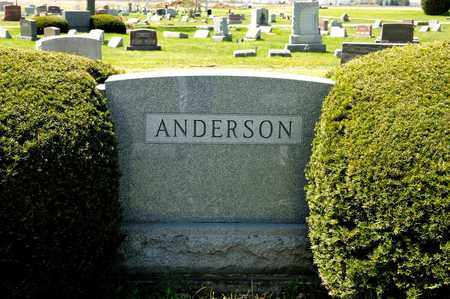 ANDERSON, LELAH M - Richland County, Ohio | LELAH M ANDERSON - Ohio Gravestone Photos