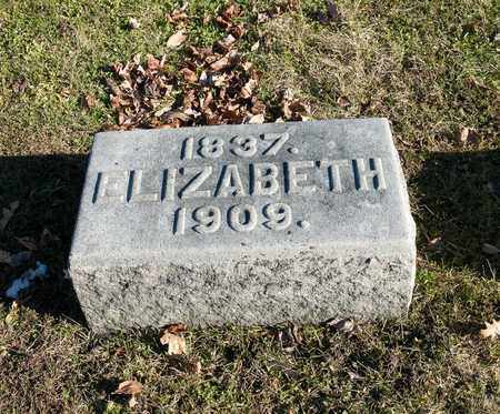 ANDERSON, ELIZABETH - Richland County, Ohio | ELIZABETH ANDERSON - Ohio Gravestone Photos