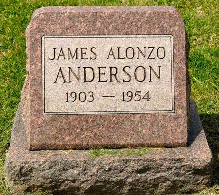 ANDERSON, JAMES ALONZO - Richland County, Ohio | JAMES ALONZO ANDERSON - Ohio Gravestone Photos