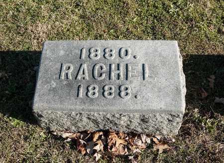 ANDERSON, RACHEL - Richland County, Ohio | RACHEL ANDERSON - Ohio Gravestone Photos
