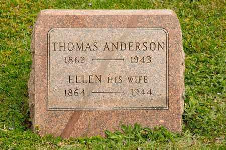 ANDERSON, ELLEN - Richland County, Ohio | ELLEN ANDERSON - Ohio Gravestone Photos
