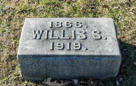 ANDERSON, WILLIS S - Richland County, Ohio | WILLIS S ANDERSON - Ohio Gravestone Photos