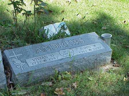 ANDREWS, VIVIAN G. - Richland County, Ohio | VIVIAN G. ANDREWS - Ohio Gravestone Photos
