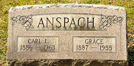 ANSPACH, GRACE - Richland County, Ohio | GRACE ANSPACH - Ohio Gravestone Photos