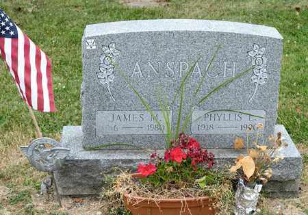 ANSPACH, JAMES M - Richland County, Ohio | JAMES M ANSPACH - Ohio Gravestone Photos