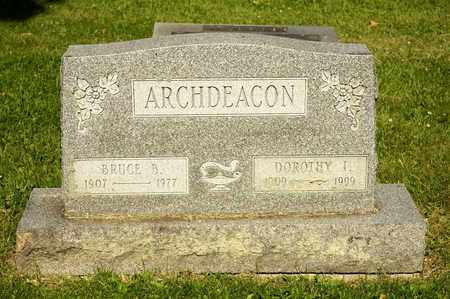 ARCHDEACON, BRUCE B - Richland County, Ohio | BRUCE B ARCHDEACON - Ohio Gravestone Photos