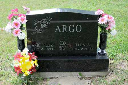 ARGO, ELLA A - Richland County, Ohio | ELLA A ARGO - Ohio Gravestone Photos