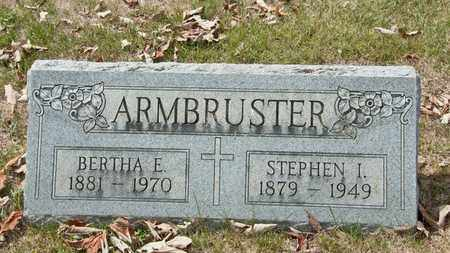 ARMBRUSTER, BERTHA E - Richland County, Ohio | BERTHA E ARMBRUSTER - Ohio Gravestone Photos