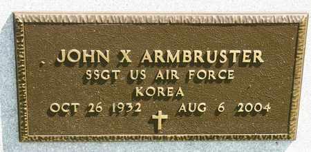 ARMBRUSTER, JOHN X - Richland County, Ohio | JOHN X ARMBRUSTER - Ohio Gravestone Photos