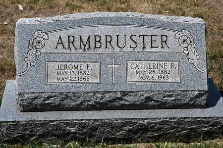 ARMBRUSTER, JEROME E - Richland County, Ohio | JEROME E ARMBRUSTER - Ohio Gravestone Photos